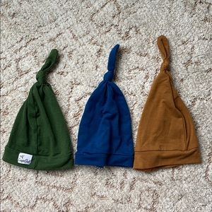 Set of 3 Copper Pearl Hats